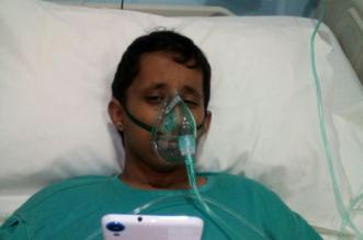 مواطن يناشد علاج ابنه بعد خضوعه لجلسات الكيماوي لسنة بتشخيص خاطئ في مستشفى الحرس - المواطن