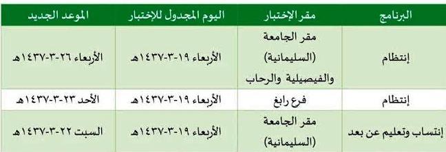 مواعيد-الاختبارات-بجامعة-الملك-عبدالعزيز