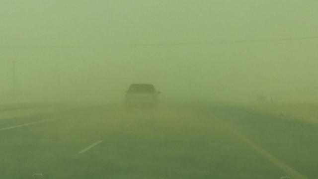 الهلال الأحمر في الشرقية يطلق التحذيرات من موجة غبار - المواطن