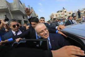 إصابة 4 أشخاص إثر انفجار استهدف موكب رئيس وزراء فلسطين بغزة - المواطن