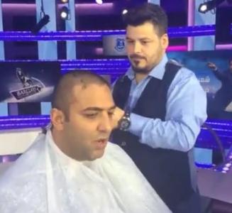 ميدو بعد قص شعره