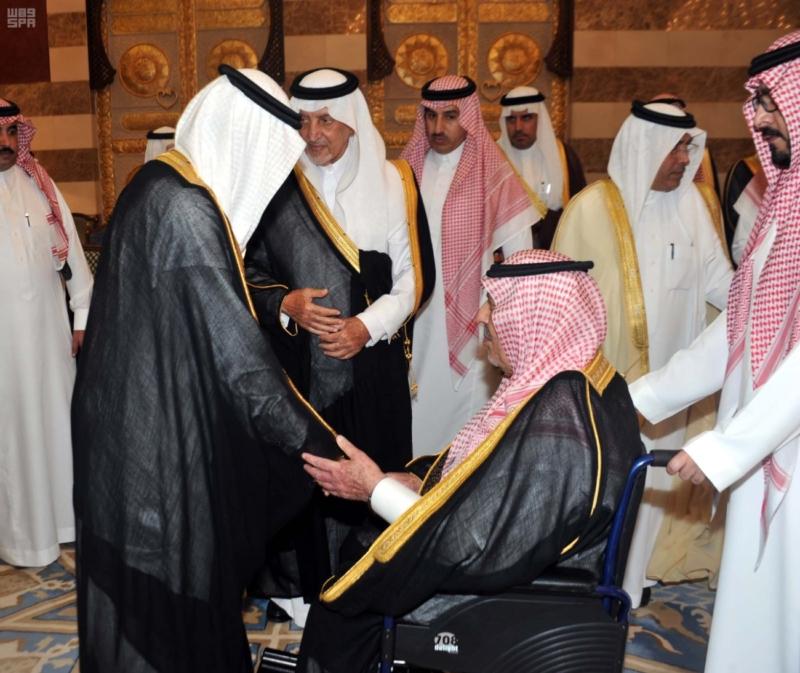 مير منطقة مكة المكرمة يستقبل المعزين في وفاة الأمير محمد بن فيصل 3