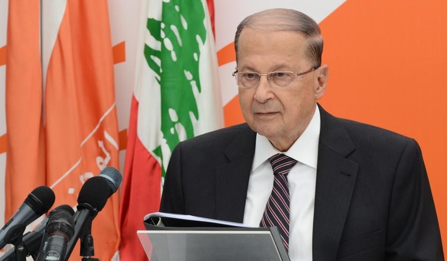 ميشال عون يضع لبنان في فوهة المدفع ضد السعودية بخطاب إيراني