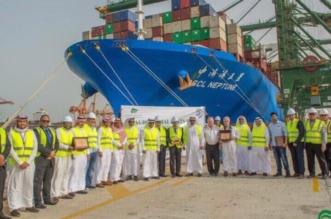 ميناء الملك عبدالعزيز التجاري يستقبل أكبر سفينة حاويات في تاريخه - المواطن