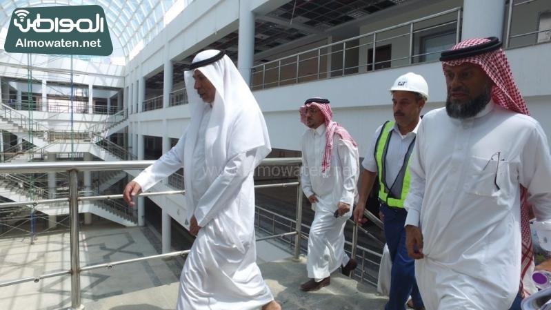 م.جامعةجازان وإنهاء المشاريع2