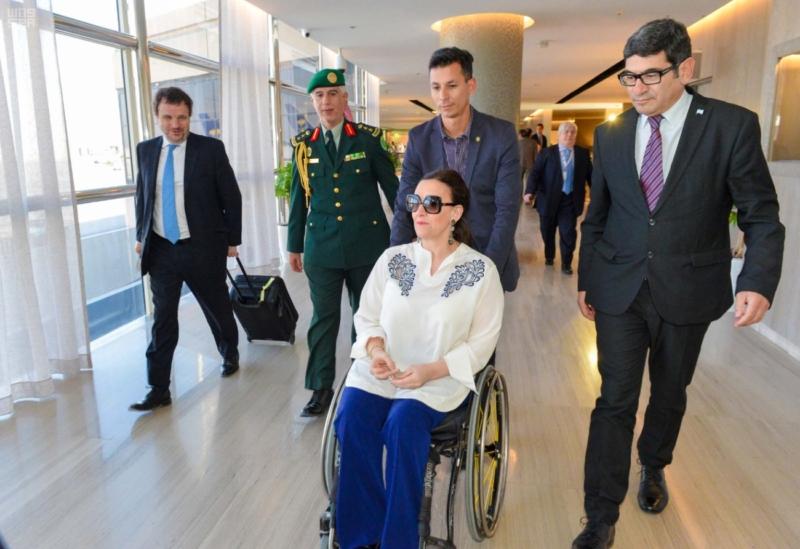 نائبة رئيس جمهورية الأرجنتين تغادر الرياض 1