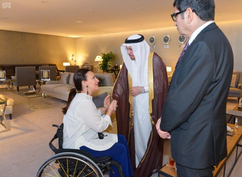 نائبة رئيس جمهورية الأرجنتين تغادر الرياض 3