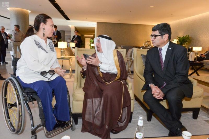 نائبة رئيس جمهورية الأرجنتين تغادر الرياض 4