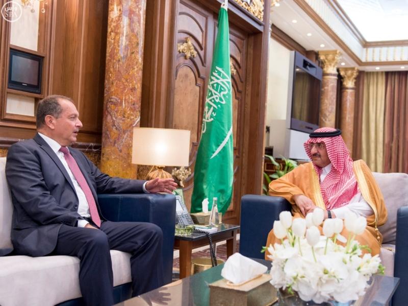 نائب الملك مع سفير بريطانيا لدى المملكة 1