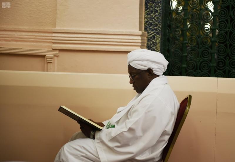 نائب رئيس جمهورية السودان يزور المسجد النبوي 2