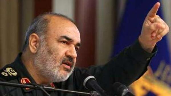 نائب قائد الحرس الثوري الإيراني حسين سلامي