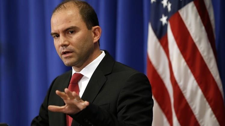 نائب مستشار الأمن القومي الأمريكي بن رودس