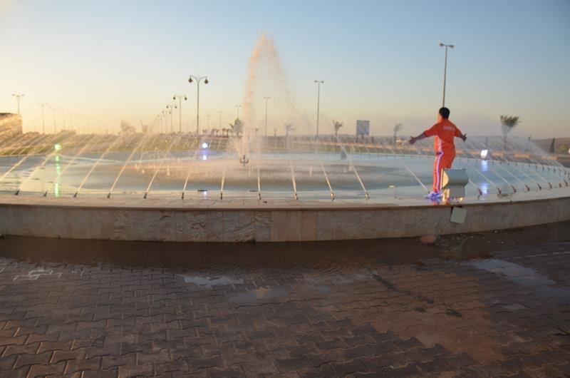 نادي الجوف لذوي الاحتياجات الخاصة يزور مهرجان ميقوع الصيفي 4