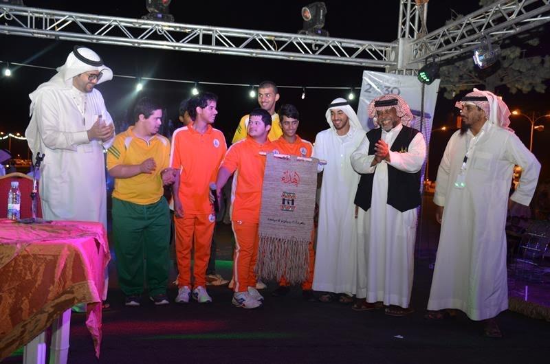 نادي الجوف لذوي الاحتياجات الخاصة يزور مهرجان ميقوع الصيفي 9