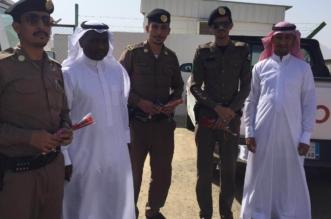 نادي الحي بثريبان يشارك رجال الأمن 1