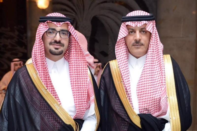 ناصر الدامر يحتفل بزواجه 3
