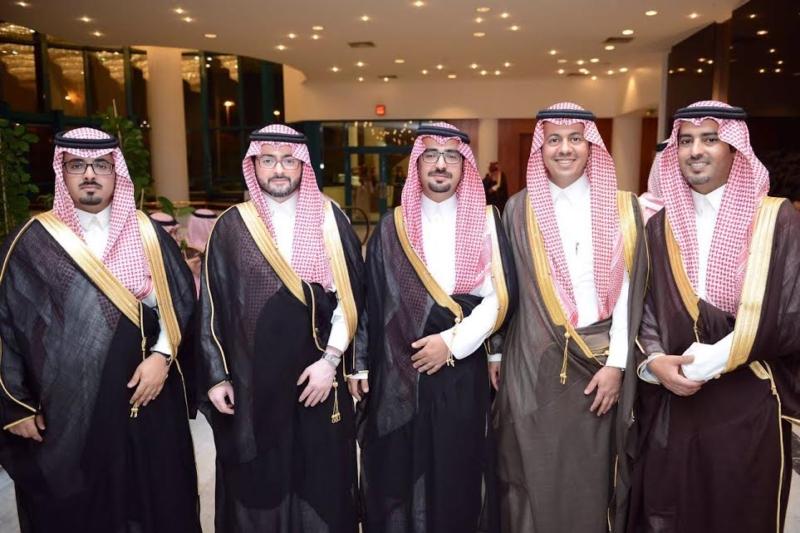 ناصر الدامر يحتفل بزواجه 5