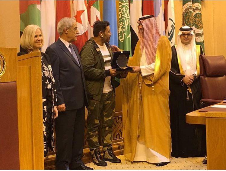 أول تعليق من ناصر حبتر بعد فوزه بجائزة أفضل مراسل تلفزيوني بمناطق النزاعات