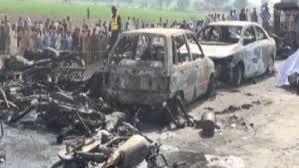 عدد ضحايا ناقلة الوقود في باكستان يرتفع لـ173 شخصاً