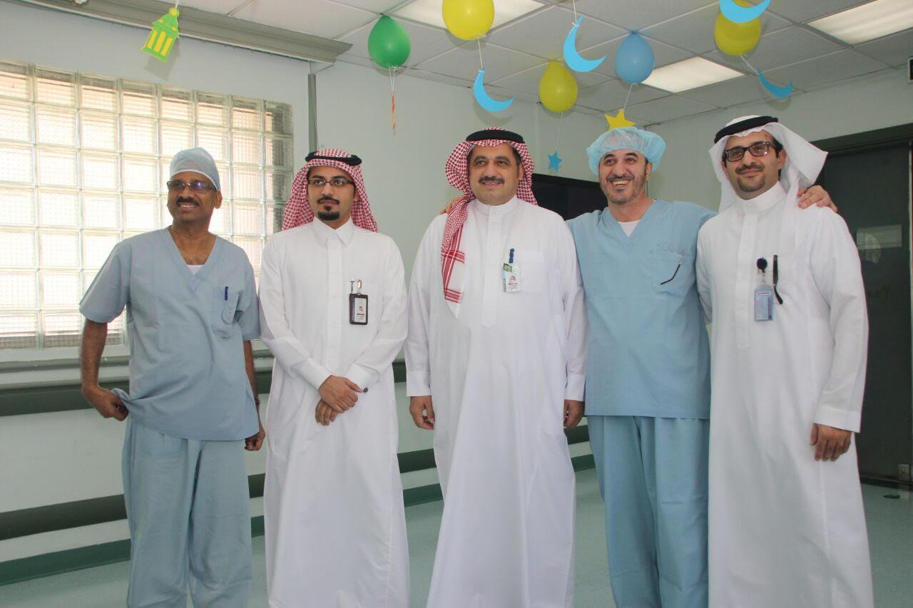 نجوم الفنّ السعودي والخليجي يُشاركون مرضى سعود الطبية (2)