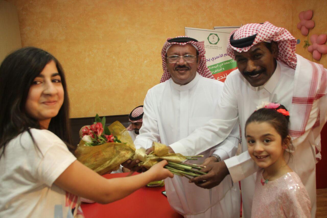 نجوم الفنّ السعودي والخليجي يُشاركون مرضى سعود الطبية (3)