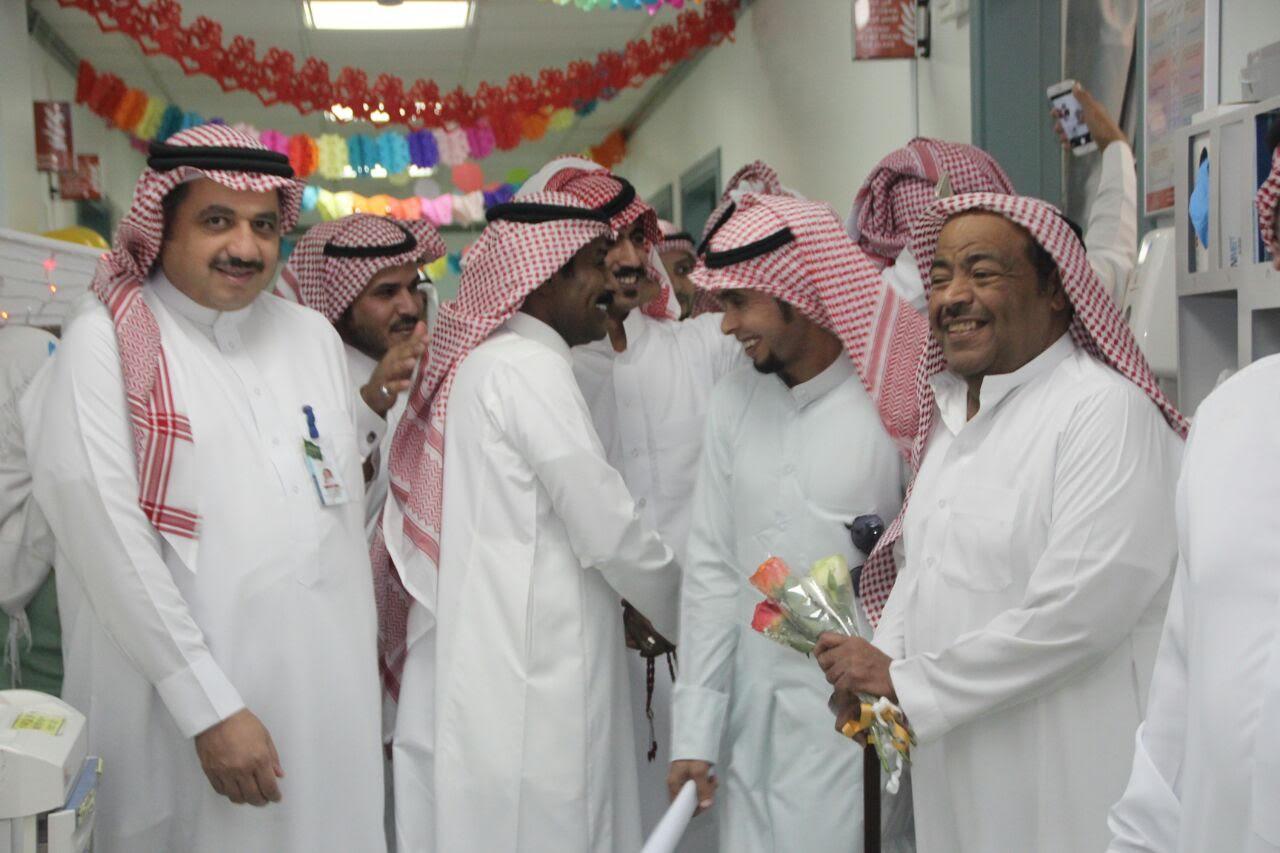 نجوم الفنّ السعودي والخليجي يُشاركون مرضى سعود الطبية (4)