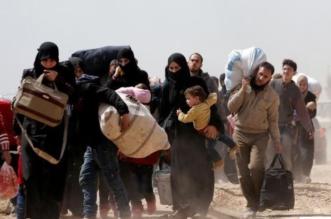 نزوح لاجئن الغوطة سوريا
