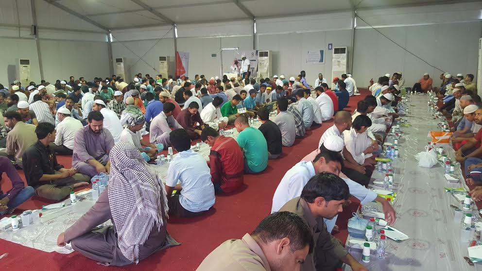 نظافة في ختام فعاليات اماطة بمخيم افطار ودعوة التاسع بالدمام (4)