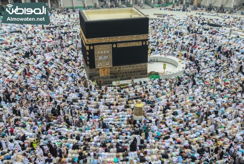 نفرة الحجاج - المسجد الحرام