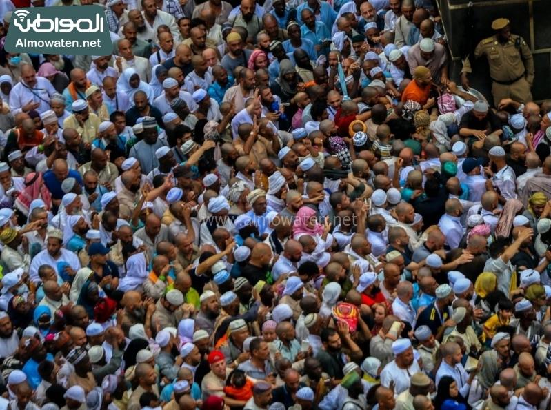 نفرة الحجاج 31- المسجد الحرام - الطواف