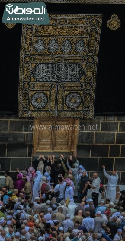 نفرة الحجاج 33 المسجد الحرام - الكعبة