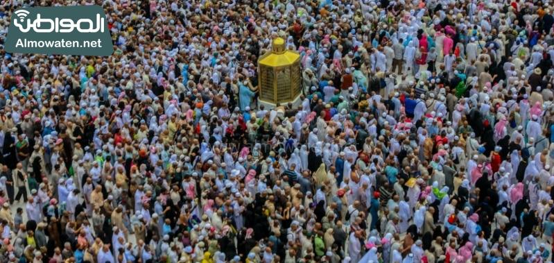 نفرة الحجاج 34 الطواف - المسجد الحرام