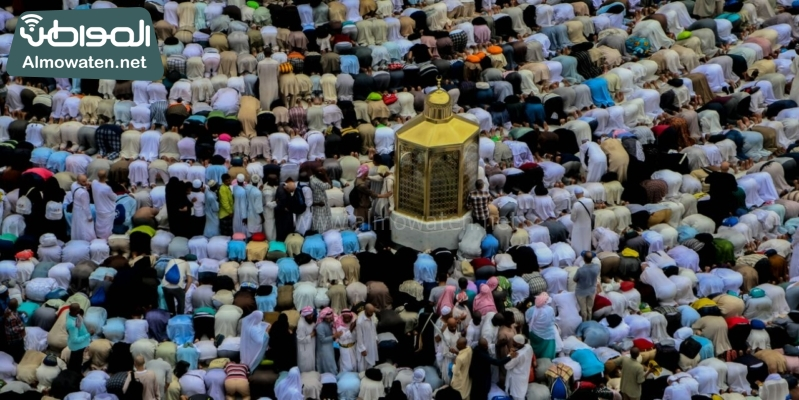 نفرة الحجاج 36 - المسجد الحرام