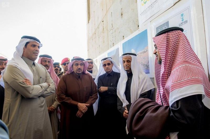 نفق الملك عبدالله وتقاطع الخماسية وعدداً من مشاريع وزارة النقل ببريدة1