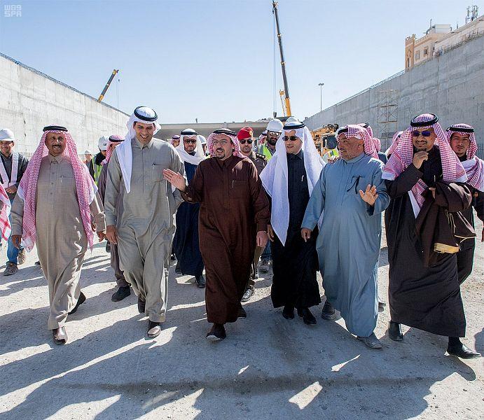 نفق الملك عبدالله وتقاطع الخماسية وعدداً من مشاريع وزارة النقل ببريدة2
