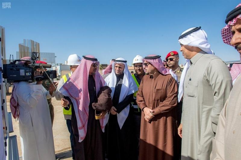 نفق الملك عبدالله وتقاطع الخماسية وعدداً من مشاريع وزارة النقل ببريدة4