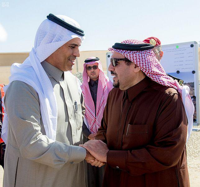 نفق الملك عبدالله وتقاطع الخماسية وعدداً من مشاريع وزارة النقل ببريدة6