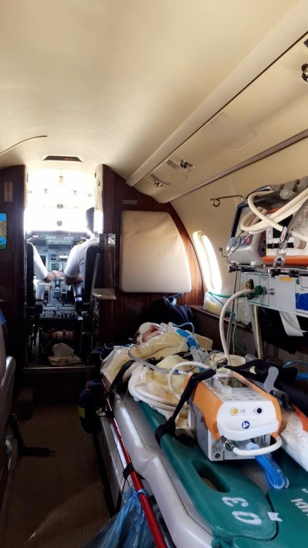 نقل الطفلة وتين لمستشفى الملك عبد الله (2)