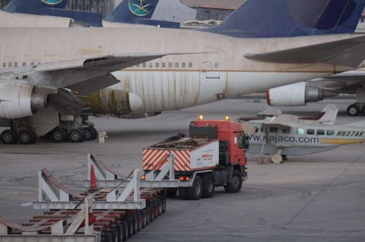 نقل طائرة