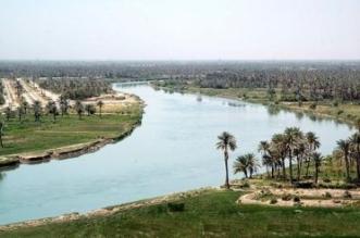 كارثة بيئية.. توقف جريان نهر دجلة في القضاء - المواطن