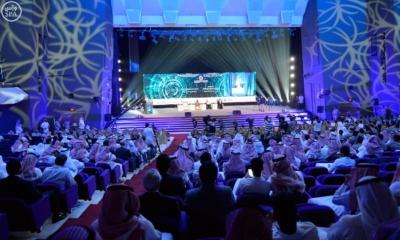 نيابة عن #ولي_ولي_العهد .. رئيس هيئة الأركان يفتتح المؤتمر العالمي لحلول القيادة والسيطرة5