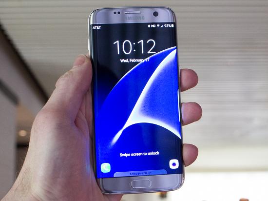 هاتف Galaxy S7 edg