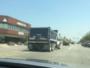 هارب بشاحنة
