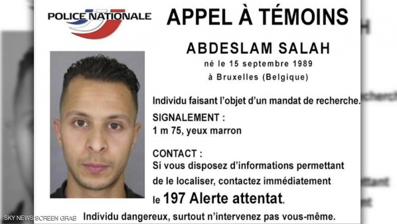 هجمات باريس البحث عن مطلوب خطير