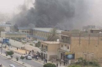 قتلى واحتجاز أجانب بهجوم المفوضية الوطنية العليا للانتخابات بليبيا - المواطن