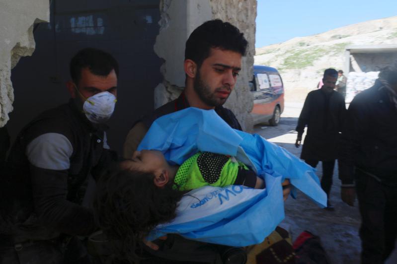 """بعد مقتل وإصابة 500 في خان شيخون بـ"""" كيماوي بشار"""".. مجلس الأمن يجتمع"""