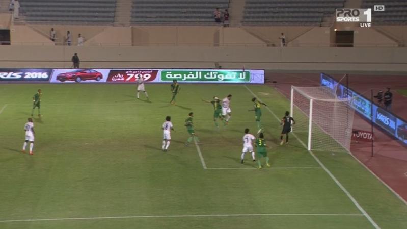 هدف التعادل الشباب مع الخليج