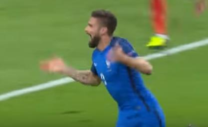 هدف لفرنسا