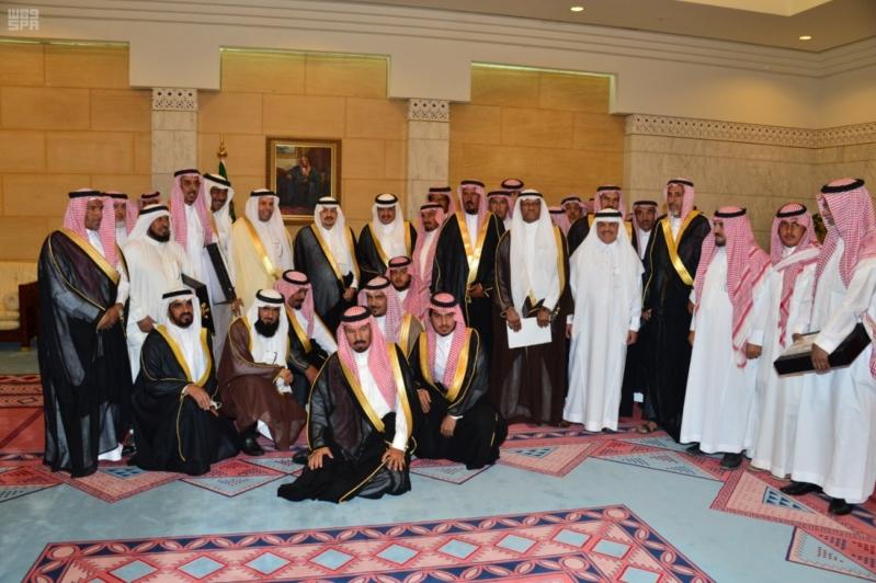 هذا ما قاله فيصل بن بندر بن عبدالعزيز للمتقاعدين أثناء تكريمهم 1