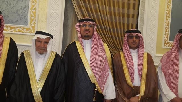 آل حامد يزفّ كريمته إلى الأمير سعد بن هذلول - المواطن